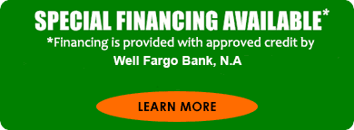 Special Financing Available through Wells Fargo -- Click to learn more